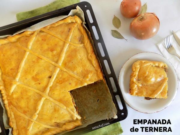 ¿Cómo hacer empanada de ternera? Receta.