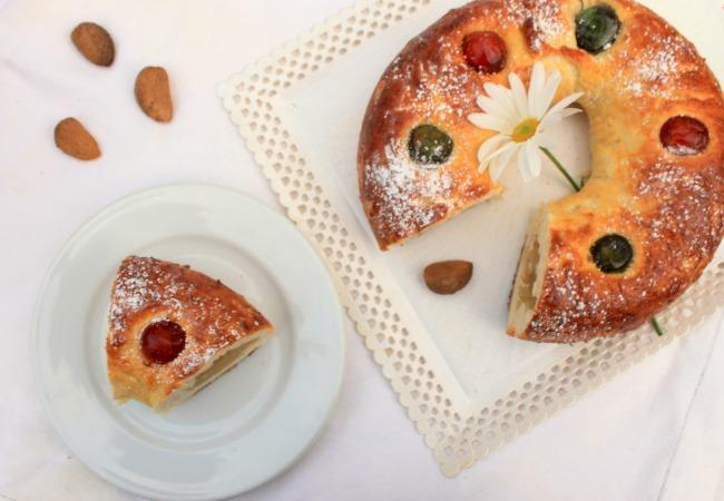 Roscón de Reyes sin huevo. Receta.