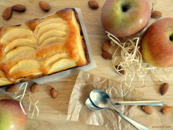 Pastel de manzana fácil y delicioso. Receta.