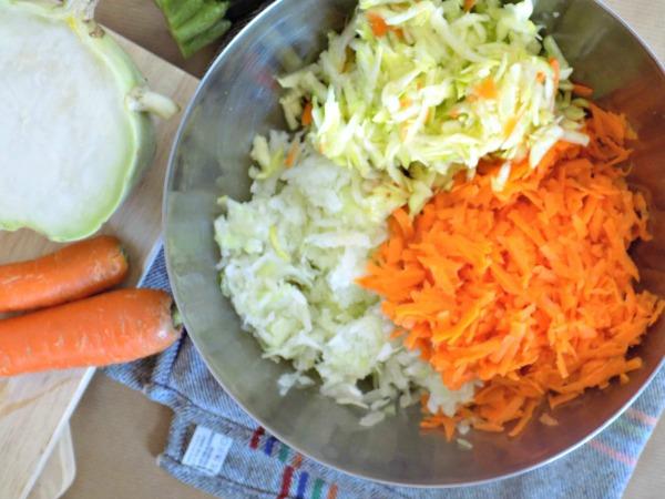 cómo cocinar colinabo presentacion verduras