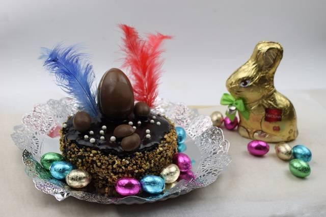 Mona de chocolate ligera y nutritiva. Receta.